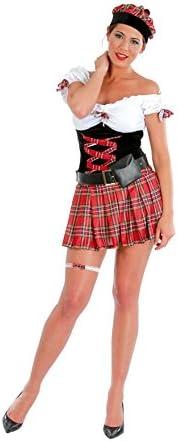 Disfraz de mujer escocesa: Amazon.es: Juguetes y juegos