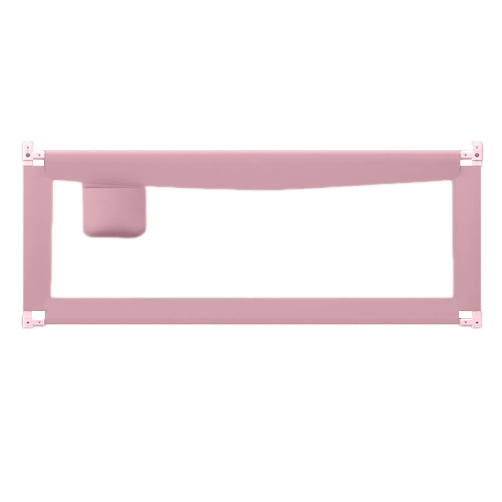 XIAOMEI,安全フェンス ポータブル85センチメートルスーパーハイベビーベッドの柵のガードレールの安全な垂直リフティングガードレール(パウダー、グリーン)-150センチメートル、180センチメートル、200センチメートル ベッドの手すり (色 : Pink, サイズ さいず : 200cm) 200cm Pink B07L8DFHWV