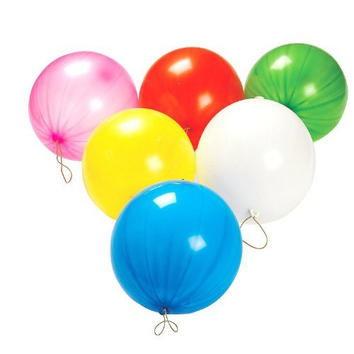 Dazzling Toys Punch Balloons - 50 Balloons (D010) Model: