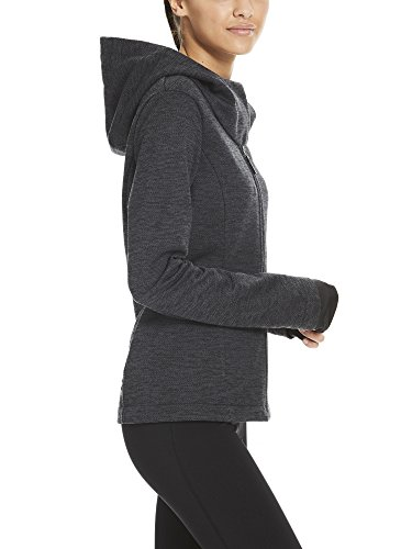 black Bench Beauty Bk11179 Giacca Donna Knit Hoody Nero AwqwXR8