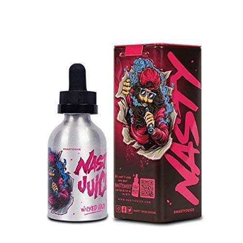 Nasty Juice Liquid Vape Saft Tief Minze 70/30 VG/Seiten 0mg 60ml - 60ml