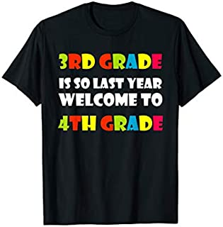 Back To School s Welcome To 4th Grade Teacher Tee Gift T-shirt | Size S - 5XL