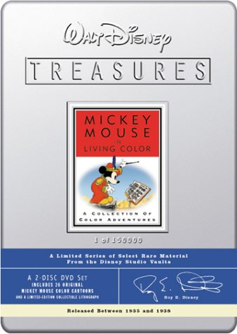 VHS : Walt Disney Treasures - Mickey Mouse in Living Color