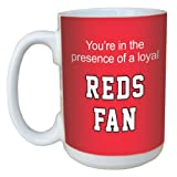 Tree-Free Greetings lm44083 Reds Baseball Fan Ceramic Mug with Full-Sized Handle, 15-Ounce
