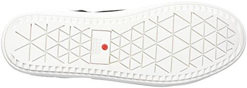 Sneaker Impermeabile Donna Giglio Nero Blondo In Camoscio