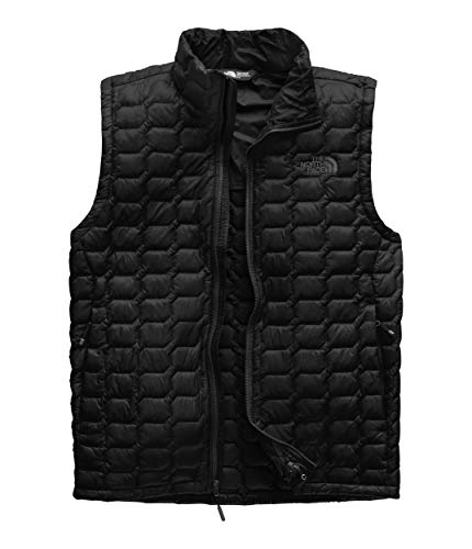 (The North Face Men's Thermoball Vest, TNF Black/TNF Black, Size M)