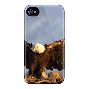 Top Quality Rugged Amazing Animals S Pack-2 (7) Case Cover For Iphone 4/4s