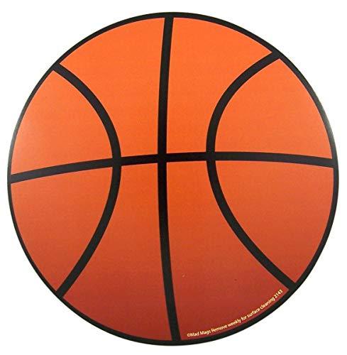 Sports Athlete Basketball Magnet for School Locker, Car Bumper, or Refrigerator, 5 3/4 Inch