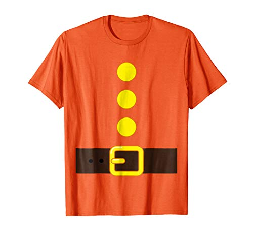 ORANGE DWARF COSTUME T-shirt COLOR Matching Shirts -