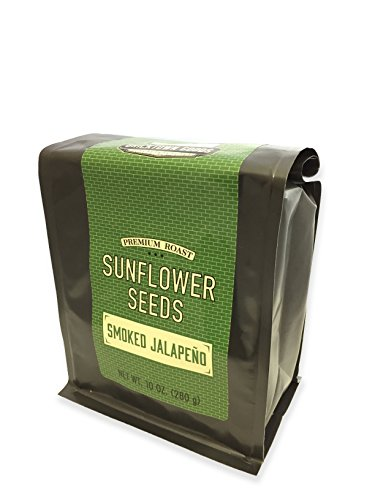 Smoked Jalapeno Flavored Sunflower Seeds - Seasoned and R...