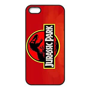 Jurassic Park iPhone 5 5s Cell Phone Case Black W7Y8TX