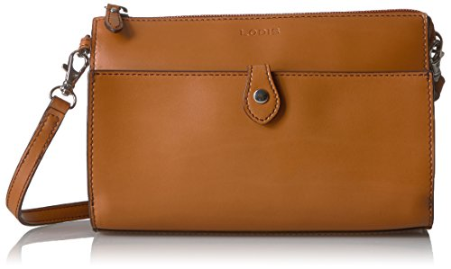 Lodis Convertible Clutch (Lodis Audrey Rfid Vicky Convertible Crossbody Clutch, Toffee)