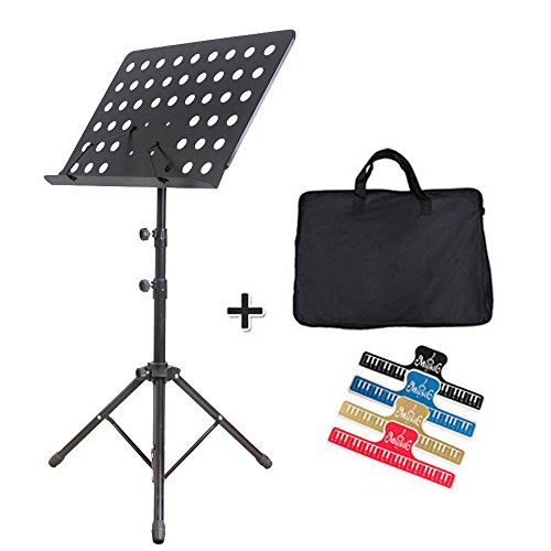 maxmix-professional-collapsible-orchestra-sheet-music-stand-heavy-duty-professional-folding-paper-st