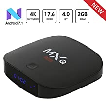 2018 Android 7.1 TV Box with KODI Leelbox MXQ MINI 2GB+8GB with BT 4.0 Supporting 4K (60Hz) Full HD /H.265 /WiFi