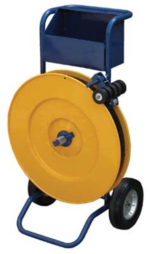 IHS STRAP-PS-HD Steel and Poly Strapping Cart with Powder Coat