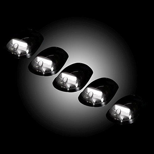 03 dodge smoked cab lights - 9