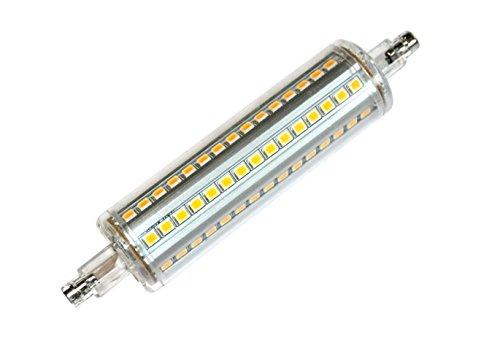 Silver Electronics Bombilla LED 5000K R7s, 10 W, 3 x 2.5 x 11.8 cm: Amazon.es: Iluminación