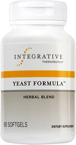 Integrative Therapeutics - Yeast Formula - Herbal Blend - Supports Healthy Yeast Balance - 90 Softgels