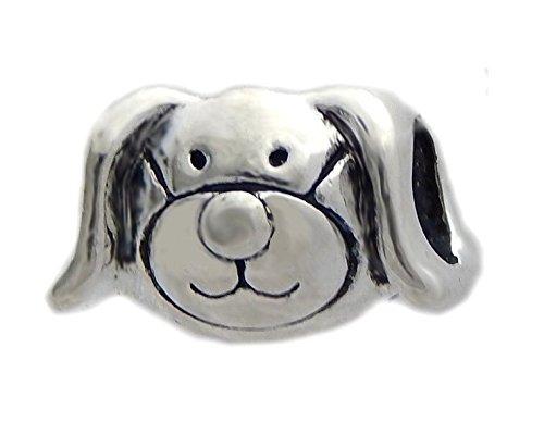 J&M Cute Dog Charm Bead for -