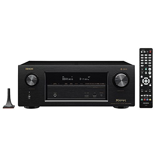 Denon AVRX3400H 7.2 Channel Full 4K Ultra HD Surround Network AV Receiver Amplifier