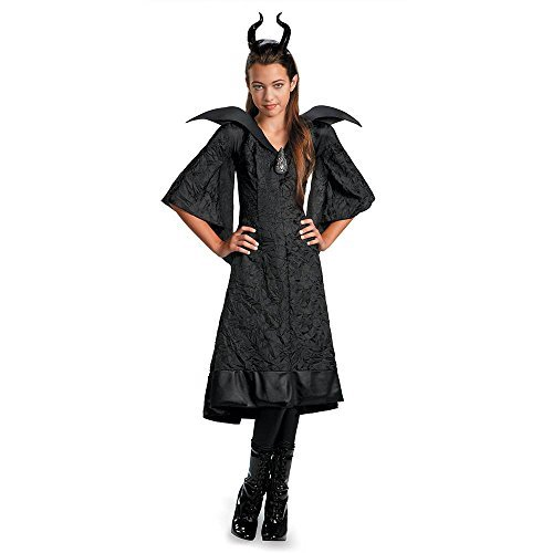 Maleficent Christening Black Gown Classic Child Costume - Large ()