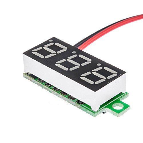 Solu ®Dc4.5-30v Two Wires Digital Voltmeter 0.36