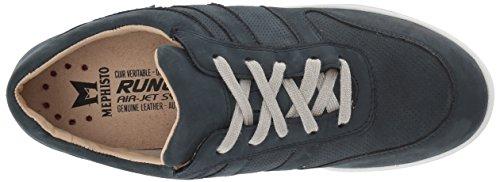 Mephisto Womens Rebeca Perf Sneaker Blu Scuro