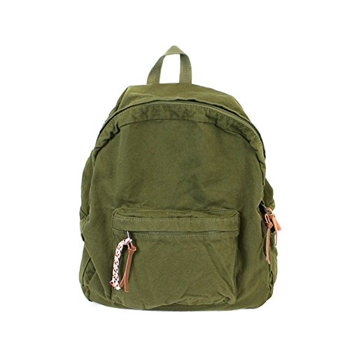 Canvas School College Backpacks for Women and Men Denim Jeans Casual Outdoor Travel Bag - Green Corduroy Jeans