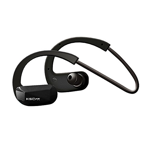 KSCAT Nice 18b Sport Bluetooth Kopfhörer Headset Bluetooth 4.1 Mikrofon In-Ear-Kopfhörer Rauschunterdrückung Earphones Stereo Wireless Headphone Telefonieren Freisprechen Extremsport