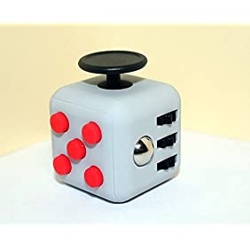 Oliasports 6 Sided Fidget Cube Dice Anxiety Stress Relief Toy