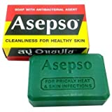 Asepso Antibacterial Agent Bar Soap 2.8 Oz / 80 G