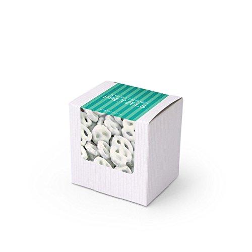 Pretzels, Greek Yogurt Covered, 3'' White Box 48ct/3.3oz by In-Room Plus, Inc. (Image #2)