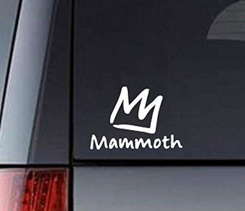 Buy mammoth sticker decal