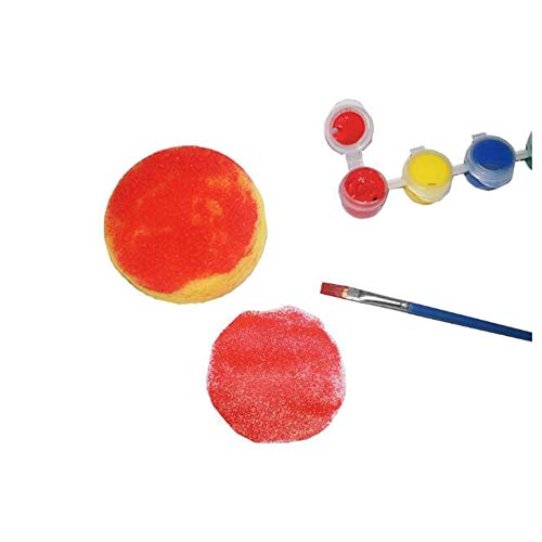 30PCS Painting Sponge Synthetic Artist Sponges Watercolor Sponges for Painting, Crafts, Pottery and More by Lemimo (Image #4)