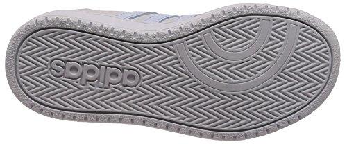 adidas Unisex-Kinder Vs Hoops 2.0 K Gymnastikschuhe Mehrfarbig (Grey One F17/aero Blue S18/ftwr White)