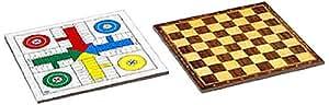 Juguetes Cayro - Tablero Parchís damas madera, 40 x 40 cm