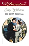 The Boss's Proposal, Cathy Williams, 0373122454