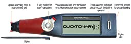Wizcom Quicktionary TS English-Arabic Translator Pen Scanner