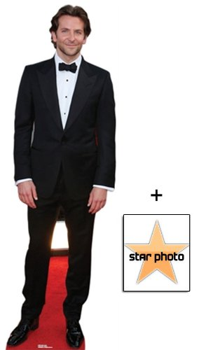 Fan Pack - Bradley Cooper Lifesize Cardboard Cutout / Standee - Includes 8X10 (25X20Cm) Star Photo (Cooper Christmas Bradley)