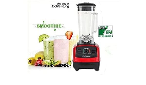 Smoothie Licuadora batidora licuadora la bomba Competizione GT Red 36000rpm 2PS: Amazon.es: Hogar