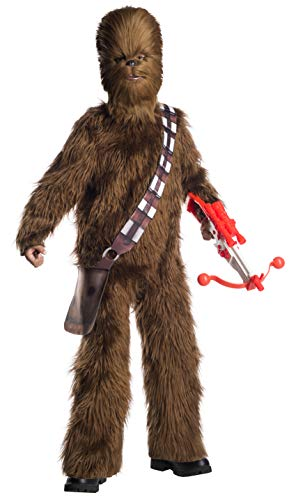 Rubie's Star Wars Classic Child's Deluxe Chewbacca Costume & Mask, Large -