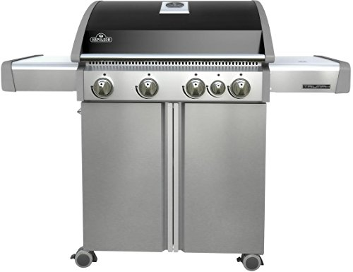 Napoleon T495SBNK Triumph Natural Gas  with 4 Burners, Black and Stainless Steel by Napoleon