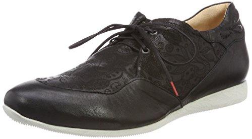 00 Cordones Raning Negro 282094 Think de Mujer para Schwarz Brogue Zapatos wvqpIWpZ