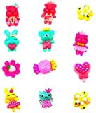 Sanjog Cute Cartoon Character Assorted Finger Rings For Girls, Kids Pack Of 12