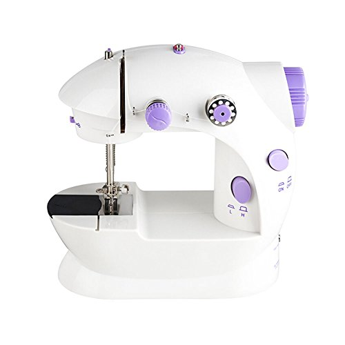 HaloVa Sewing Machine, Portable Mini Sewing Machine, House E