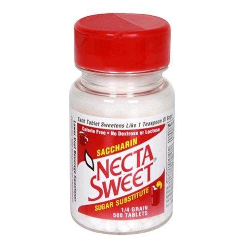 NECTASWEET SUGAR SUB TB .25 GR 500