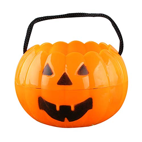 Mini Halloween Pumpkin Bucket for Baby Pumpkin Halloween Costume Toddler -