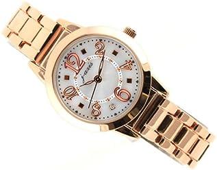 ba3d22eb1421 ViVi掲載モデル☆J-AXIS メタルウォッチ サンフレイム人気の可愛い腕時計ピンク