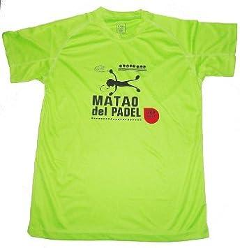 Gopadel - Camiseta pádel técnica matao, talla xxl, color pistacho ...