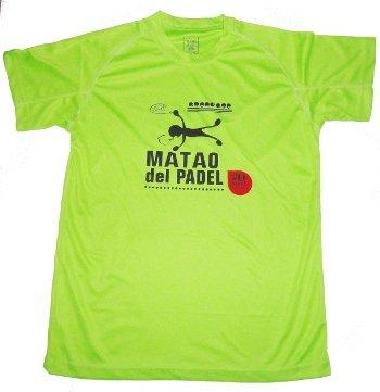 Gopadel - Camiseta pádel técnica matao, talla xxl, color pistacho: Amazon.es: Deportes y aire libre